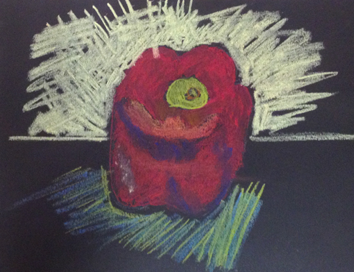 pastel drawing - elementary art curriculum - knoodleu - studio 101 west.com