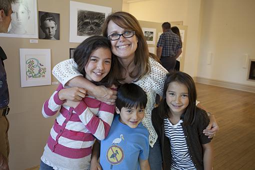 student art show - knoodleu - atascadero art classes - introduction to art - homeschool art curriculum