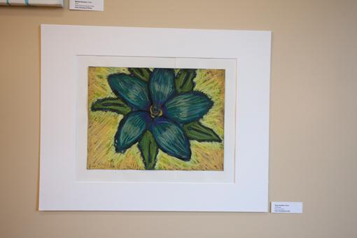 student art show - knoodleu - atascadero art classes - pastel art - homeschool art curriculum