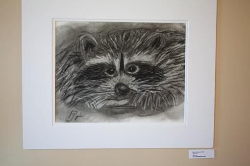 student art show - knoodleu - atascadero art classes - charcoal art - homeschool art curriculum
