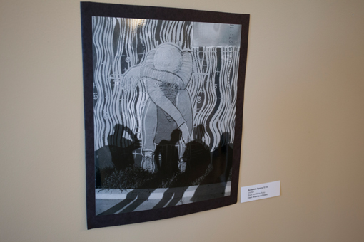 student art show - knoodleu - atascadero art classes - drawing on history - photography lesson - homeschool art curriculum
