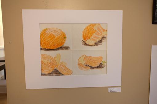 student art show - knoodleu - atascadero art classes - art lesson- homeschool art curriculum