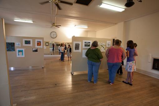 student art show - knoodleu - atascadero art classes - drawing on history - homeschool art curriculum