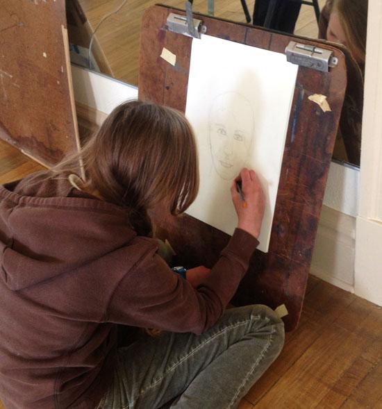 Art Curriculum for homeschool - teen art lessons - atascadero