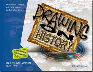 art lessons - Drawing on History - fine art - art history - high school fine art projects - KnoodleU Publishing