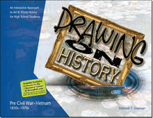 High School Art Curriculum for Independent homeschool students - Drawing on History