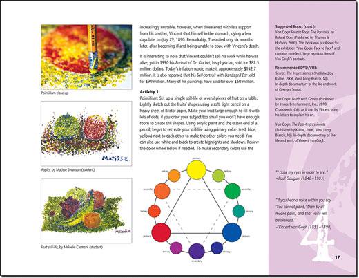 Homeschool art curriculum - home school art - high school art lessons