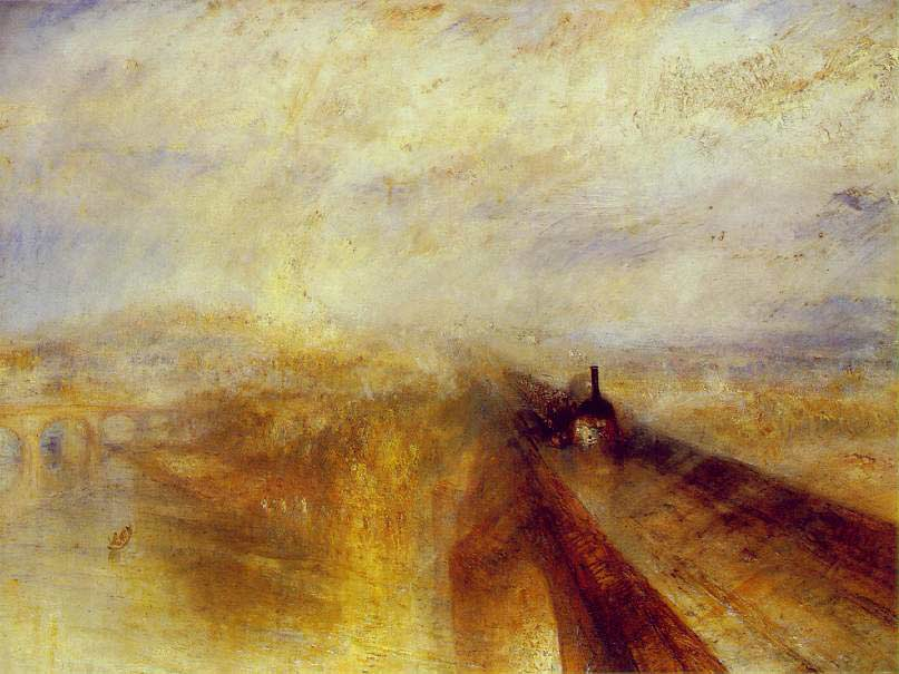 Romanticism Art Movement - JMW Turner - COVID Art Movement - KnoodleU - Deborah Swanson