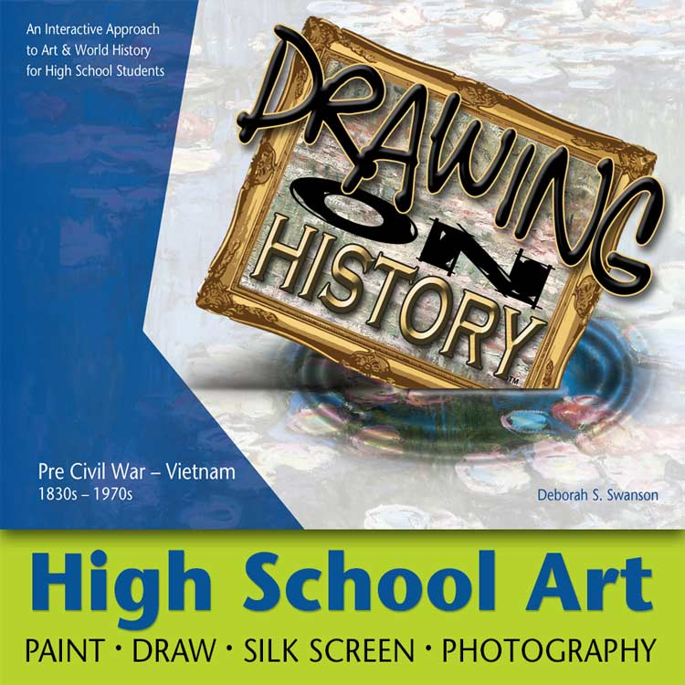 Drawing on History - High School Art - Homeschool Art Curriculum 2021 Winner - How to Homeschool - Best Middle & High School Homeschool Resources & Curriculum Award Winner 2021