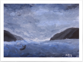 Romanticism - Stormy Sea Painting - Drawing on History - Homeschool Art Curriculum
