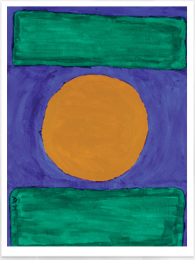 Abstract Art - Rothko Like Painting - Drawing on History - Homeschool Art Curriculum