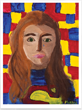 Fauvism - Self Portrait - Drawing on History - Homeschool Art Curriculum